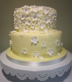 this would be such a cute reception cake. @Jessica Bennett