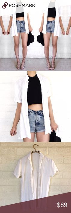 Equipment linen button down Super chic staple piece! No trades. Open to offers. Equipment Tops Button Down Shirts