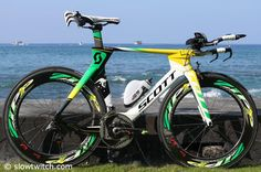 Kona, a great time for this kind of stuff: The Scott Plasma 3 of Luke McKenzie.