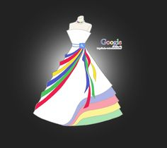 Designer produz vestidos inspirados em redes sociais e site do Google