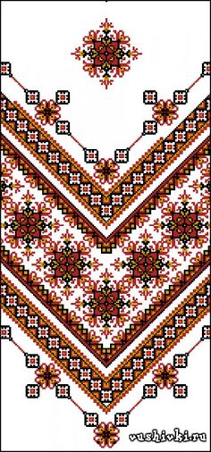 I wish there was a pattern . Folk Embroidery, Embroidery Fashion, Cross Stitch Embroidery, Embroidery Patterns, Cross Stitch Patterns, Cross Stitch Boards, Cross Stitch Bookmarks, Cross Stitch Needles, Celtic Cross Stitch