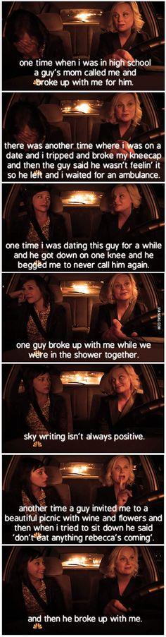 Leslie Knope's Breakups