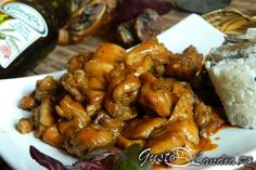 Pui inabusit in bere - GustoLandia Chicken Wings, Good Food, Easy Meals, Meat, Recipes, Foods, Simple, Kitchens, Food Food