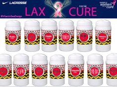 Vitamin Sea Design #lacrosse #laxforthecure #lax #playforacause
