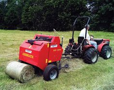 Choosing a Hay Baler for Your Compact Tractor