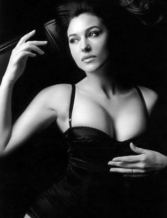 Monica Bellucci, Italian actress.