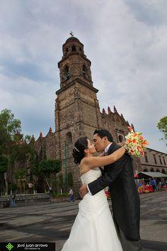Tu boda en la catedral de Tlalnepantla, Estado de México.