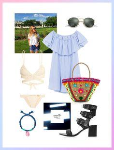 La valise d'Emeline Blanc, stagiaire rédactrice mode Glamour.fr