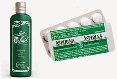 Portal Dicas e Truques: Leite de Colônia (Rosa) + Aspirina = Seca espinhas, tira manchas e acaba com Cravos!