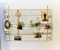 Deko-Objekte -  Memoboard Shabby/Vintage Pinnwand Perlen - ein Designerstück von Pfaennle bei DaWanda