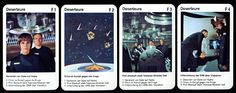 Raumpatrouille Orion: Quartett (36 Karten), Quartett ... https://spaceart.de/produkte/ror002.php