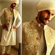#SabyasachiMukherjee #Sabyasachi #Menswear #Kurta #Jacket #Exquisite #Embroidew #ThreadWork #HandCraftedlnlndia #lndian #Tradition #Turban #Regal #Royal #Dapper #TheDandyMaharaja @ranveersingh #RanveerSingh #Actor #Bollywood #DiwaliCelebrationsZO15 #TheWorIdOfSabyasachi #StyledBy @nitashagaurav