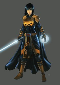 Jo'lene Coz'Tal (Commission) by KaRolding on DeviantArt Star Wars Sith, Rpg Star Wars, Clone Wars, Star Trek, Star Wars Fan Art, Star Wars Concept Art, Female Jedi, Female Armor, Star Wars Characters Pictures