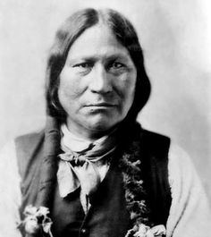 """Black Coal was born in 1840 in to the """"Antelope"""" band of Northern Arapaho tribe…"""