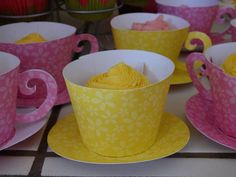 Love these! Ordered them for my daughter's tea for two birthday party! Adorable!