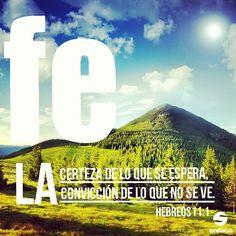 Es, pues, la de la certeza de lo que se espera, la convicción de lo que no se ve. - Hebreos 11:1 - taken by @Elise Black - via http://instagramm.in