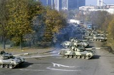 October Tanks entered to Moscow to storm the House of Soviets. Storm The House, Nuclear War, Military Guns, Modern Warfare, Moscow, Civilization, Vietnam, Russia, Freedom