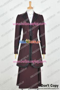 Doctor 8th Season Ninth Master Dark Water Female Missy Mistress Cosplay  Costume