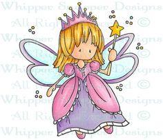 Kallie - Angels/Fairies - Rubber Stamps - Shop