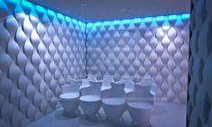 Rain Drops - model 16. Click for more information or to visit our website.  #LoftDesignSystem #loftsystem #Decorativepanels #Inspiration #Interior #Design #wallpanels #3Ddecorativepanels #3dpanels #3dwallpanels #office #officedecorations #raindrops