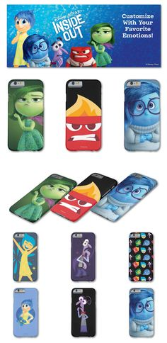 Disney Inside Out - Slim iPhone 6 Cases
