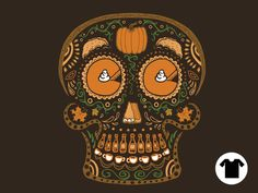 Pumpkin Day of the Dead for $11 - $14