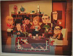 20 artistas exponen su visión del mundo de la serie The Big Bang Theory