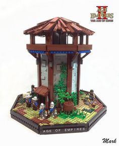 "Behold the most iconic tower from Age of Empires: Age of Kings."" - Age of Empires."