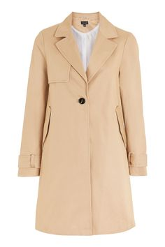 Girly A-Line Trench Coat - Jackets & Coats - Clothing - Topshop
