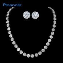 Pinannie Rhodium Plated Jewellery Cubic Zirconia Luxurious Wedding Bridal Jewelry Sets for Women  Price: 27.80 & FREE Shipping  #jewellery|#elegant|#jewellerysets|#necklaces Bridal Jewelry Sets, Luxury Wedding, Pearl Necklace, Necklaces, Jewellery, Free Shipping, Pearls, Elegant, Diamond