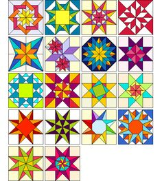 Exotic Stars by Judy Martin for EQ7