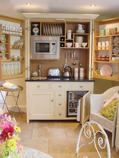 Attractive Armoire Turned Mini Kitchen. Great For A Guest Room Or Finished Basement.  By Jen Munday   Basement Ideas   Pinterest   Mini Kitchen, Armoires And  Basements