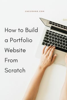 Building a portfolio website from scratch is easier than you might realize. It will take you in as little as 30 minutes to build your portfolio website and have it on the internet for people to visit. To guide you, check out this article that walks you through building a portfolio website from scratch. Web Design Tips, Building A Website, Portfolio Website, Walks, Internet, Check, People, People Illustration, Folk