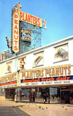 Planters Peanuts Store - Atlantic City, New Jersey | by The Cardboard America Archives