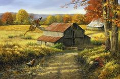 Linda Picken Art Studio / Pheasants Fall Barn.jpg