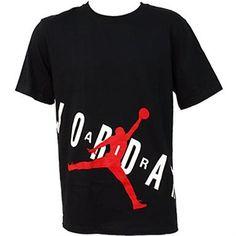 Air Jordan Bold Tee T Shirts - Mens Black Red White