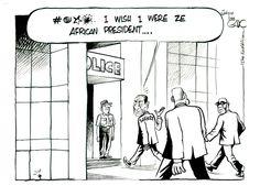 EA July 07 14 Sarkozy in Police castody Local Hero, Presidents, Police, Editorial, African, Ea, Memes, Books, Cartoons