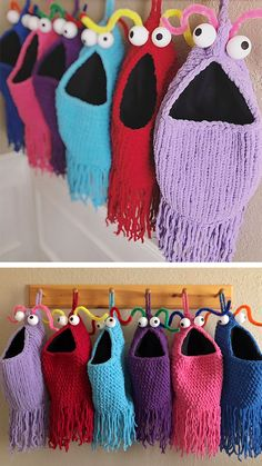 вязание следки тапочки носки тапочки Knitting Crochet Und