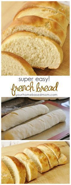 Quick & Easy French Bread – you will never buy store bought again! Quick & Easy French Bread – you will never buy store bought again! Quick And Easy French Bread Recipe, Homemade French Bread, Easy Bread Recipes, Baking Recipes, Baking Snacks, Homemade Breads, Vegan French Bread Recipe, Quick Recipes, Easy Fast Bread Recipe