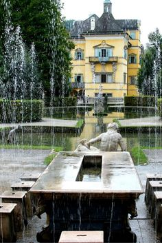 Salzburg, Austria: The Trick Fountains of Castle Hellbrunn Oh The Places You'll Go, Cool Places To Visit, Places Ive Been, Visit Austria, Salzburg Austria, Heart Of Europe, Reisen In Europa, Innsbruck, Adventure Is Out There