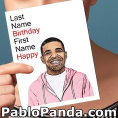 Last Name Valentine First Name Happy Fathers Day Cards, Valentine Day Cards, Holiday Cards, Valentines, Christmas Cards, Funny Christmas, Holiday Gifts, Drake, Funny Birthday Cards