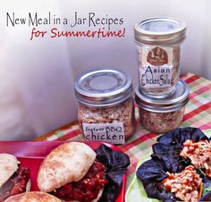 Meals in a Jar Summertime Recipes with Chef Tess | In The Kitchen With Honeyville