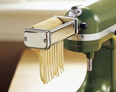 KitchenAid Stand Mixer Pasta Roller Attachment  Sugg. Price: $170.00 Our Price: $149.95  Let your KitchenAid stand mixer prove its versatility as a pasta maker. Easy to install, the roller quickly works the dough into sheets for making egg noodles, tortellini and lasagna.