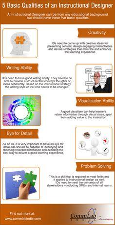 5 Qualities of a Good Instructional Designer #InstructionalDesign