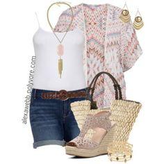 Plus Size Fashion - Summer Kimono