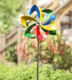 Elegant Midi Flower Wind Spinner In Wind Spinners