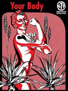 Non Toxic Revolution Poster Artworks