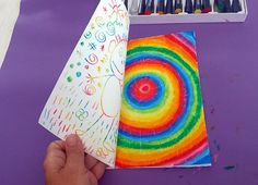 Bonhomme arc-en-ciel – Le tour de mes idées - Post Tutorial and Ideas Art Lessons For Kids, Projects For Kids, Art For Kids, Art Projects, School Projects, Classe D'art, First Grade Art, Kindergarten Art, Diy Arts And Crafts