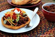 Navajo Tacos. Mmmmm!