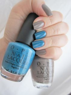 """OPI """"Berlin there done that""""  & OPI """"Suzi says feng shui"""""""